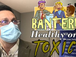 Cover image for the video on banter at work